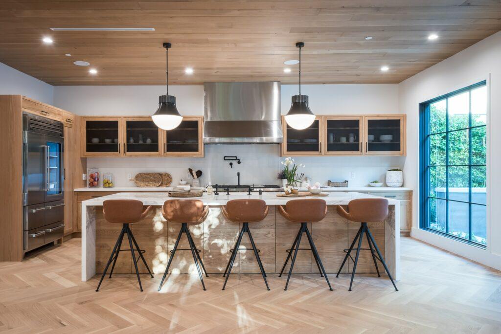 wood kitchen design 2021