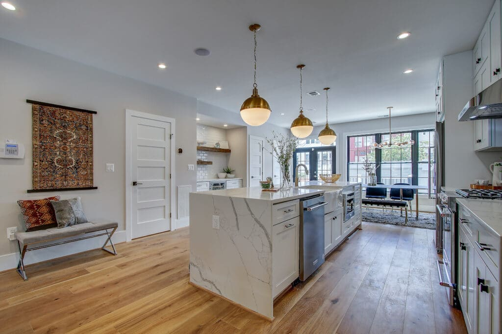 small kitchen flooring cost
