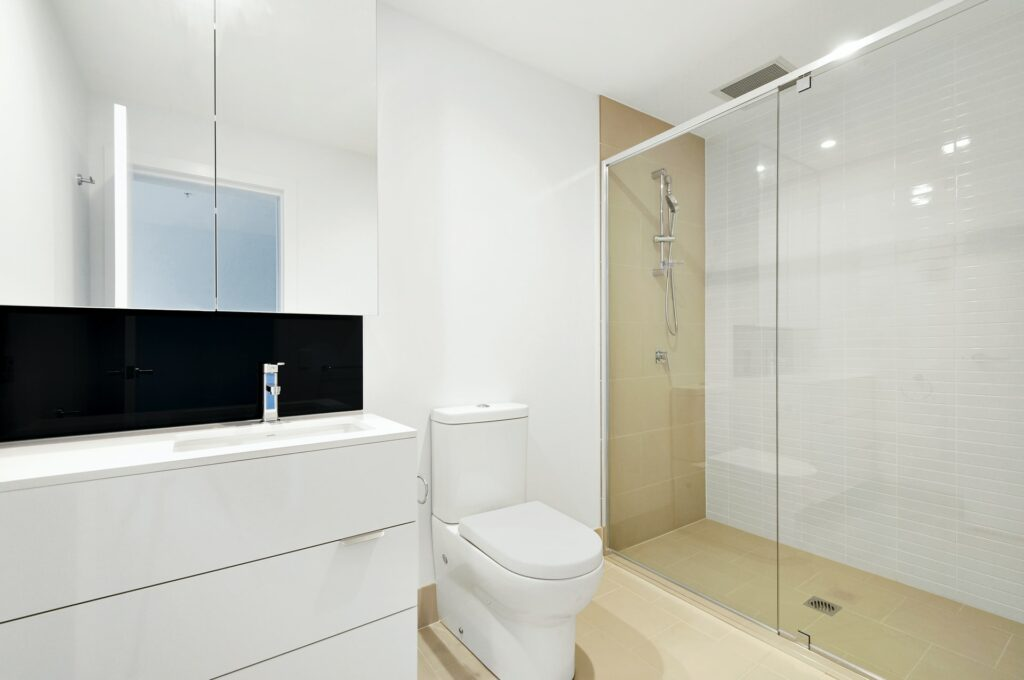 changing bathroom layout