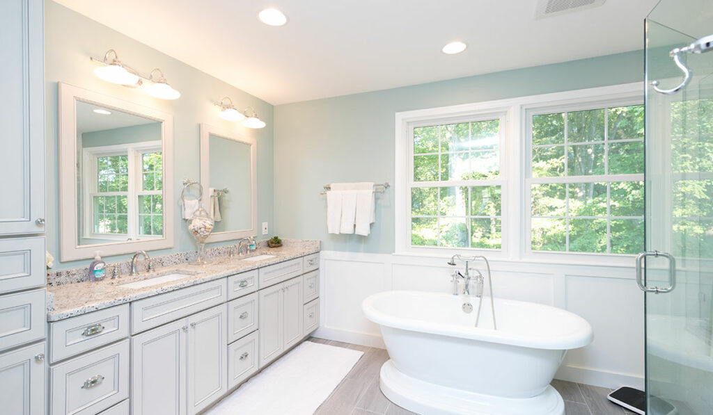 natural lighting bathroom design rules