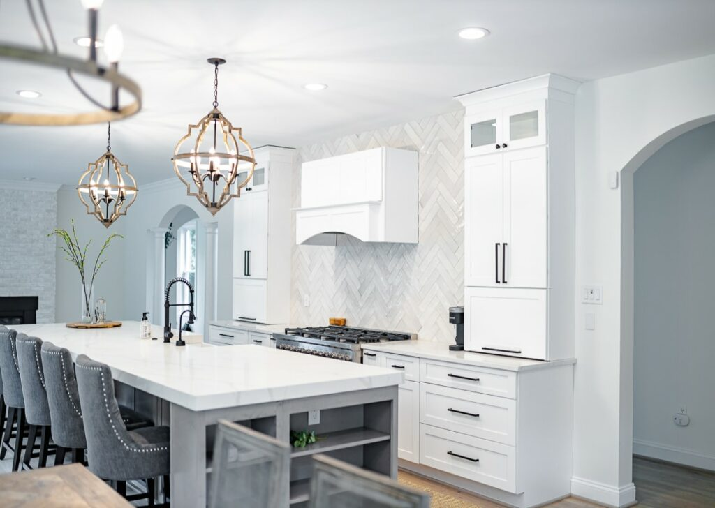 upscale kitchen remodel